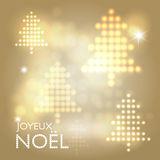 Joyeux Noël abstract background Stock Photos