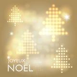 Joyeux Noël abstract background Stock Photos