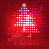 Joyeux Noël abstract background Royalty Free Stock Photo