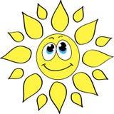 Joyeux soleil Photo stock