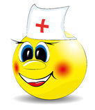 Joyeux sourire de docteur Photo libre de droits
