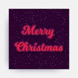 joyeux vecteur de Noël Photos stock