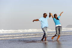 Joyful African Couple Royalty Free Stock Photo
