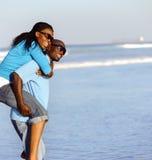 Joyful African Couple Royalty Free Stock Image