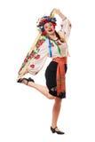 Joyful attractive woman Stock Photos
