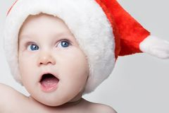 Joyful baby Stock Images