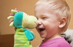 joyful barn Royaltyfria Bilder