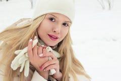 Joyful beautiful young girl smiling. Stock Images