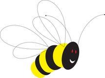 Joyful bee royalty free stock image