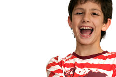 Joyful boy Stock Image