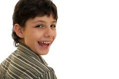 Joyful boy Stock Photos