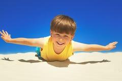 Joyful boy Stock Photo