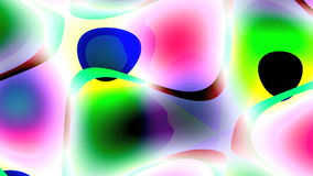 Joyful changing abstraction stock footage
