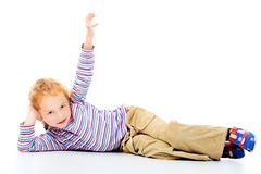 Joyful child Stock Photo