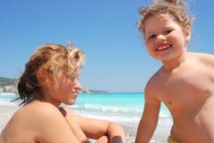 The joyful child. Stock Photos