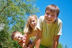 Joyful children Royalty Free Stock Photos