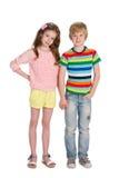 Joyful children Royalty Free Stock Photography
