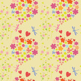Joyful and colorful pattern Royalty Free Stock Photography