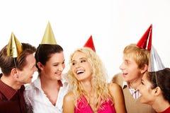 Joyful company Royalty Free Stock Photos