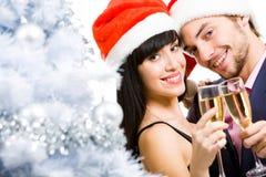 Joyful couple Royalty Free Stock Images