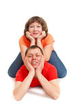 Joyful couple Royalty Free Stock Photos