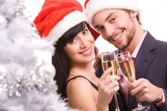 Joyful couple Stock Photography