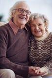 Joyful couple Royalty Free Stock Image