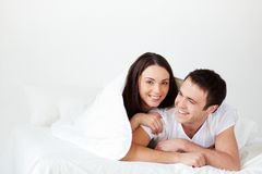 Joyful couple Stock Photo