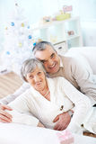 Joyful couple Royalty Free Stock Photos