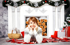 Joyful december Royalty Free Stock Images
