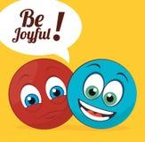 Joyful design. Stock Image