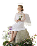 Joyful Easter Angel Stock Photos
