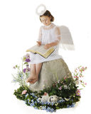 Joyful Easter Angel Royalty Free Stock Images