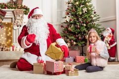 1145b96488364 Cheerful Kid With Lots Of Presents Stock Image - Image of childhood ...