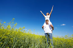 Joyful feeling Royalty Free Stock Photos