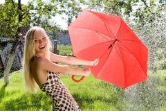 Joyful female Royalty Free Stock Photography
