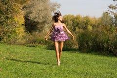 Joyful flicka Fotografering för Bildbyråer