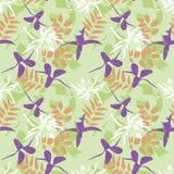 Joyful flowers Stock Image