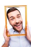 Joyful frame. Stock Photography