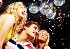 Joyful friends Royalty Free Stock Photo