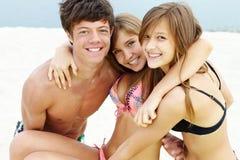 Joyful friends Stock Image