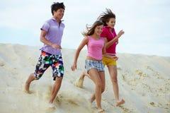 Joyful friends Royalty Free Stock Image