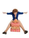 Joyful gifts Stock Photography