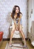 Joyful girl Royalty Free Stock Photo