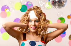 Joyful girl Royalty Free Stock Photography