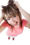 Joyful girl Stock Image