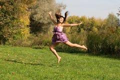 Joyful girl Royalty Free Stock Image