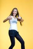 Joyful girl Royalty Free Stock Images