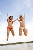Joyful girls Royalty Free Stock Photography