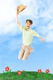 Joyful guy Stock Photography